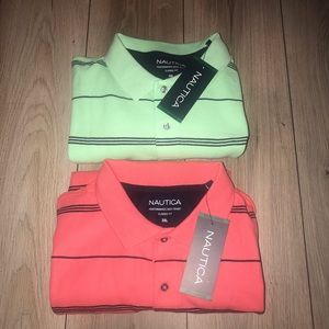 2 NAUTICA Polo Shirts